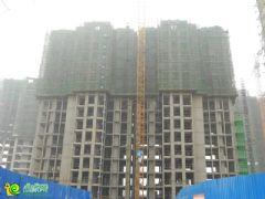 阳光苑4#楼工程进度实景图(2013.09.13)