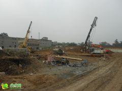 阳光苑5#楼工程进度实景图(2013.09.13)