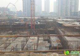 金世纪花园车库工程进度(2013.09.27)