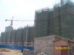 华信山水文苑二期施工现场(2011.6.10)