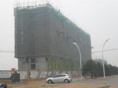 华信山水文苑二期施工现场(2011.6.23)