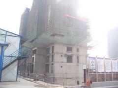 圣水湖畔1#楼施工现场(2011.10.18)