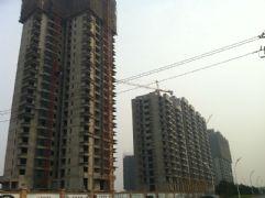 华信山水文苑二期施工现场(2011.11.15)