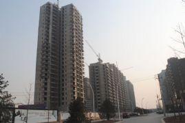 华信山水文苑二期施工现场(2012.2.2)