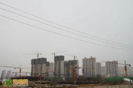 御景江山城施工现场(2012.6.28)