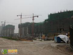 金世纪花园工程进度(2012.07.08)