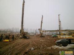 龙仕公园里工程进度(2013.02.19)