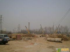 龙仕公园里工程进度(2013.03.08)