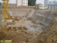 阿尔卡迪亚阳光苑2号楼工程进度(2013.5.7)