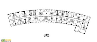 康业大厦6层户型
