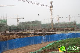 紫岸工程进度图(2014.04.23)