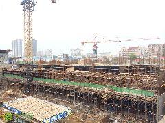 财智天地工地实景(2014.04.26)