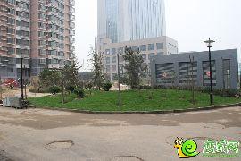 圣水湖畔1、2号楼园林(2014.4.18)