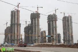 枫景华庭工地实景(2014.5.5)