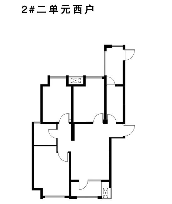 阿尔卡迪亚阳光苑2#   三室两厅一卫