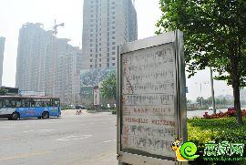 金世纪花园交通实景图(2014.05.18)