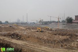 卓冠美景城工程实景(2014.5.21