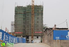 盛锦花园1号楼实景图(2014.06.11)