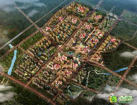赵都新城整体项目鸟瞰