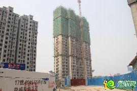 阳光苑5#工程进度(2014.6.30)