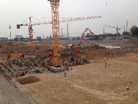 卓冠美景城工程实景(2014.6.2)