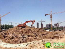 龙仕公园里工程进度(2014.6.5)