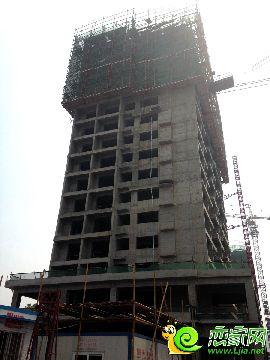 金百合项目东区1#楼实景图(2014.6.30)