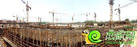 金百合项目西区全景图(2014.6.30)