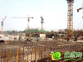 金百合项目西区实景图(2014.6.30)