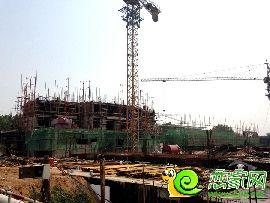 金百合项目西区10#楼实景图(2014.6.30)