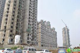 枫景华庭工地实景(2014.07.02)