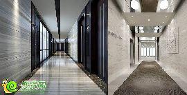 A座寫字樓標準層走廊