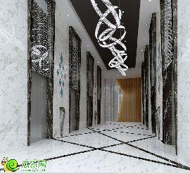 A座寫字樓一層電梯廳