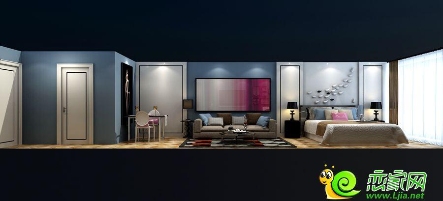 SOHO公寓住宅户型立面图