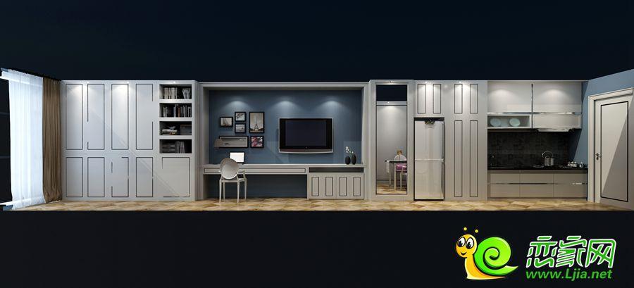 SOHO公寓住宅户型图立面