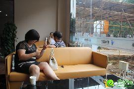 新城国际新售楼部实景图(2014.07.23)