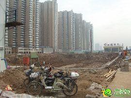 汉成华都商业进度实景图(2014.07.31)