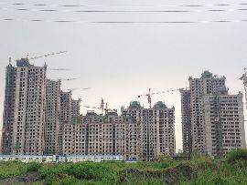 枫景华庭工地实景(2014.07.10)