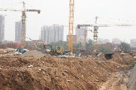龙仕公园里工程进度(2014.07.04)