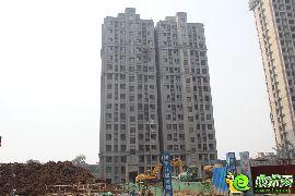 阳光苑工程进度实景图(2014.8.19)