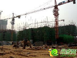 金百合项目西区7#、8#实景图(2014.8.6