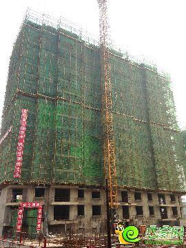 盛瑞华庭7#楼实景图(2014.8.19)