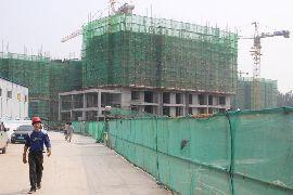 龙仕公园里工程进度(2014.8.08)