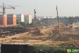 名城首府项目实景(2014.9.5)