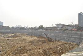 阳光新卓广场实景图(2014.9.10)