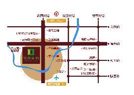 卓冠·百变公寓区位图