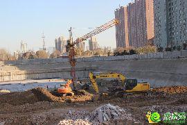 兆通华苑工地实景(2014.12.04