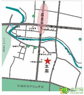 峰峰·中央公园区位图