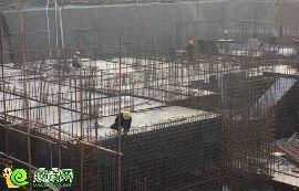 阳光新卓广场正在建负二层(2015.03.14)