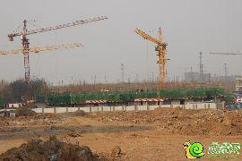 锦绣江南25#楼开始建地上一层(2015.03.14)